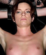 Two girls strapped, cuffed and tortured