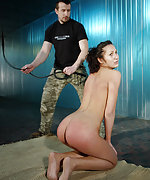 Isabell ass spanked and harsh bullwhipped