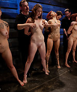 Four sluts in humiliating training session