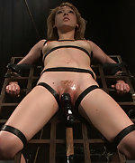 Cuffed, blindfolded, mind fucked, whipped and tickled