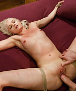 Blond whore gets sexual punishment and humiliation