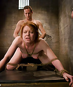 Slave candidate gets bound, fucked and tested