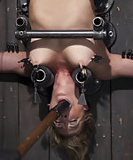 Milf is put into despicably torturous devices to suffer
