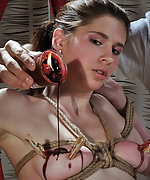 Undressed, whipped, roped, waxed, pegged, used