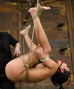 Intense bondage and humiliation play